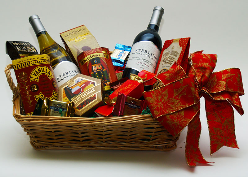 Wine beer gift baskets from minotti s